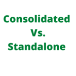 consolidated and standalone
